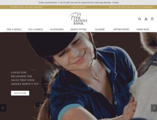 thesaddlebank.com screenshot