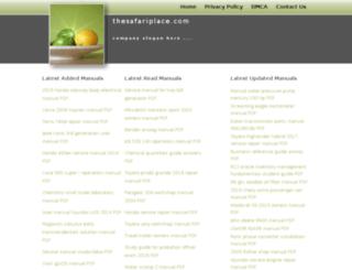 thesafariplace.com screenshot