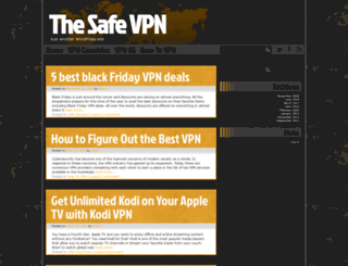thesafevpn.com screenshot