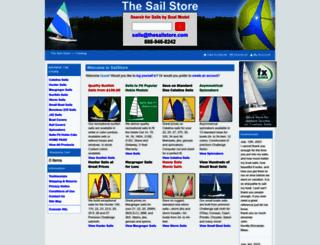 thesailstore.com screenshot