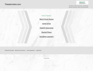 thesalonniere.com screenshot
