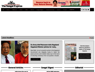 thesangaiexpress.com screenshot
