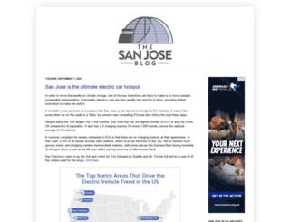 thesanjoseblog.com screenshot