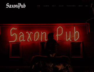 thesaxonpub.com screenshot