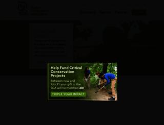 thesca.org screenshot
