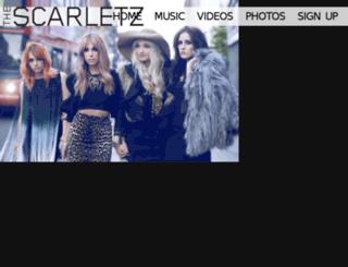 thescarletz.com screenshot