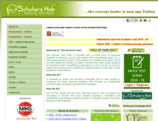 thescholarshub.com screenshot