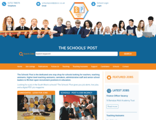 theschoolspost.co.uk screenshot