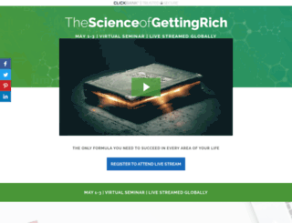 thescienceofgettingrichseminar.com screenshot