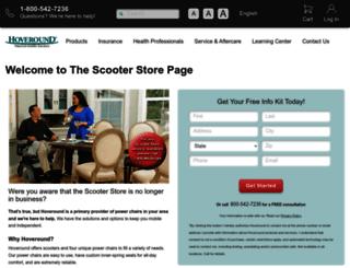 thescooterstore.com screenshot