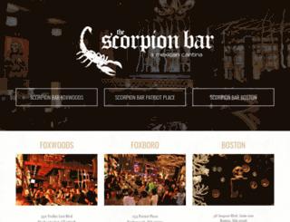 thescorpionbar.com screenshot