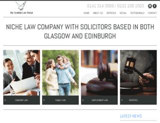thescottishlawportal.com screenshot