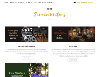 thescreenplaywriters.com screenshot