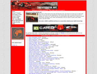 thescuderia.net screenshot