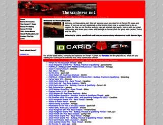 thescuderia.net screenshot