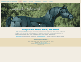 thesculpturestudio.com screenshot