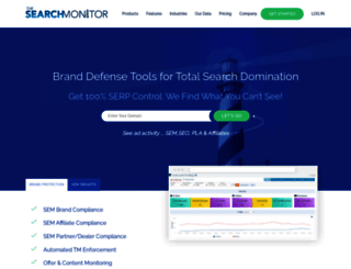 thesearchmonitor.com screenshot