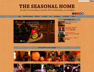 theseasonalhome.com screenshot