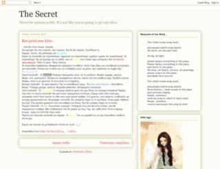 thesecret09.blogspot.com screenshot