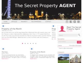 thesecretpropertyagent.com screenshot