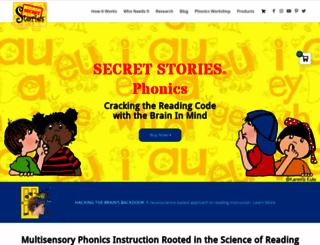 thesecretstories.com screenshot