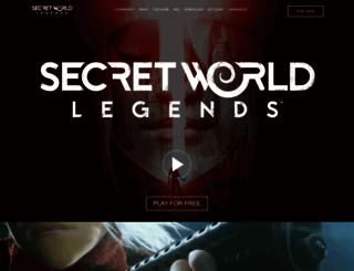 thesecretworld.com screenshot