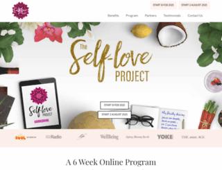 theselfloveproject.com screenshot