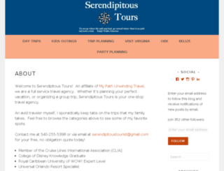 theserendipitoustourist.blogspot.com screenshot