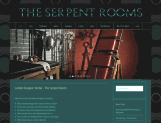 theserpentrooms.co.uk screenshot