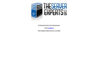 theserverexperts.com screenshot