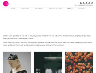 theshiftinluxury.com screenshot