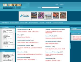 theshoppings.com screenshot