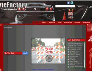 theshytefactory.com screenshot