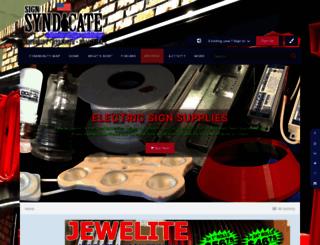 thesignsyndicate.com screenshot
