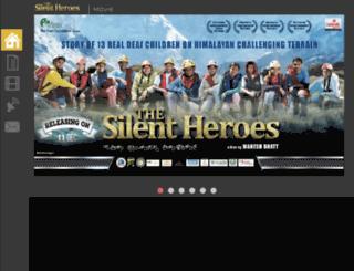 thesilentheroesfilms.com screenshot