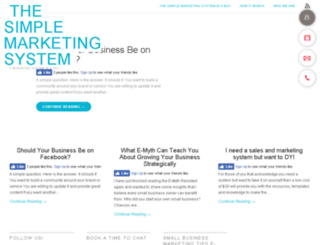 thesimplemarketingsystem.com screenshot