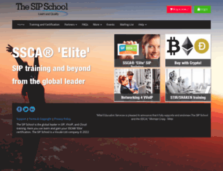 thesipschool.com screenshot