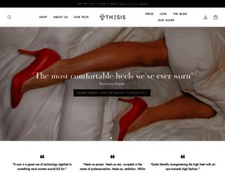 thesiscouture.com screenshot