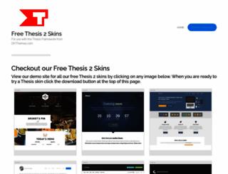 thesisthemes.com screenshot