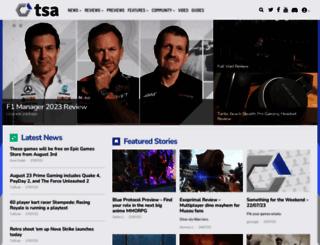 thesixthaxis.com screenshot