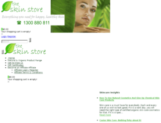 theskinstore.com.au screenshot