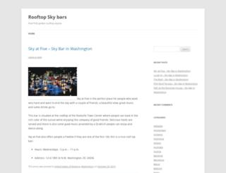 theskybars.com screenshot