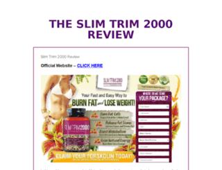theslimtrim2000review.com screenshot