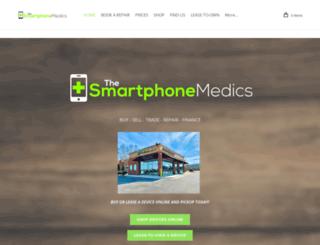 thesmartphonemedics.com screenshot