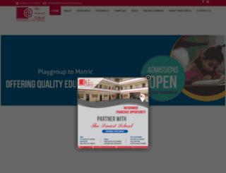 thesmartschools.edu.pk screenshot