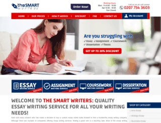 thesmartwriters.com screenshot