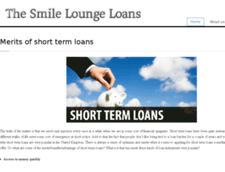 thesmilelounge.org.uk screenshot