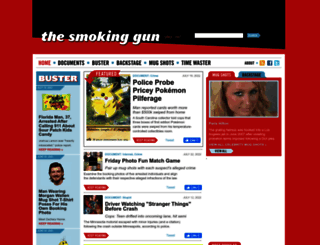 thesmokinggun.com screenshot