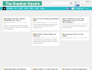 thesneakersquare.com screenshot
