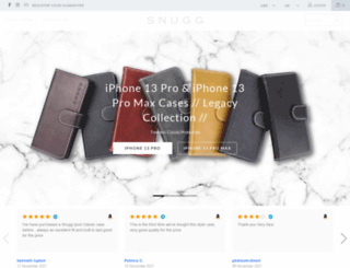 thesnugg.co.uk screenshot